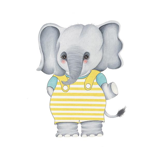 Olaf het olifantje