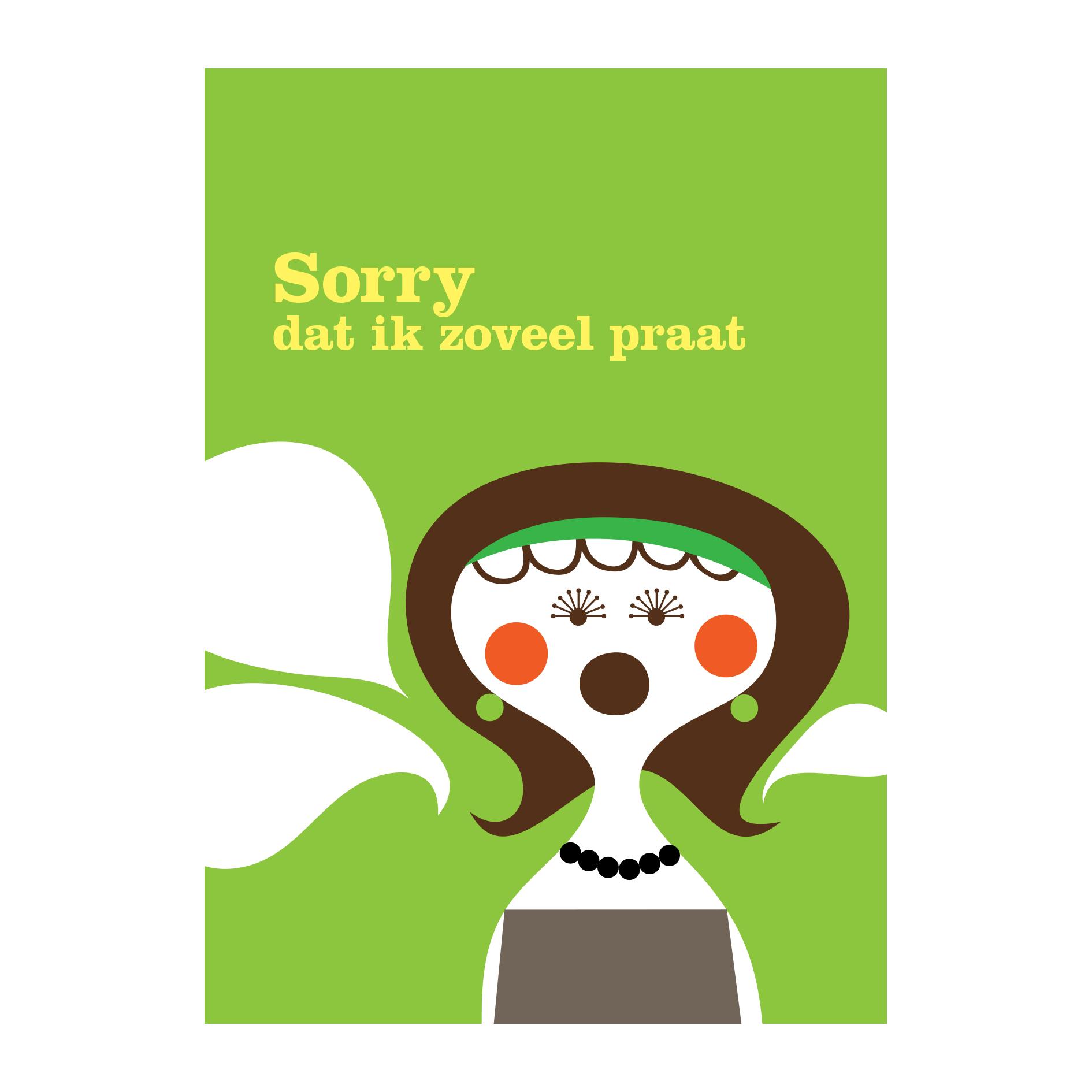 Snor-Bedankt,sorry,hoera!