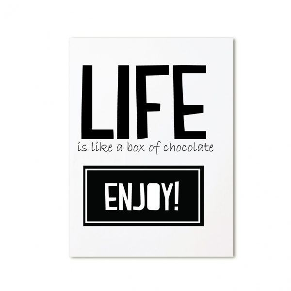 Zoedt-kaart-life-is-like-chocolate