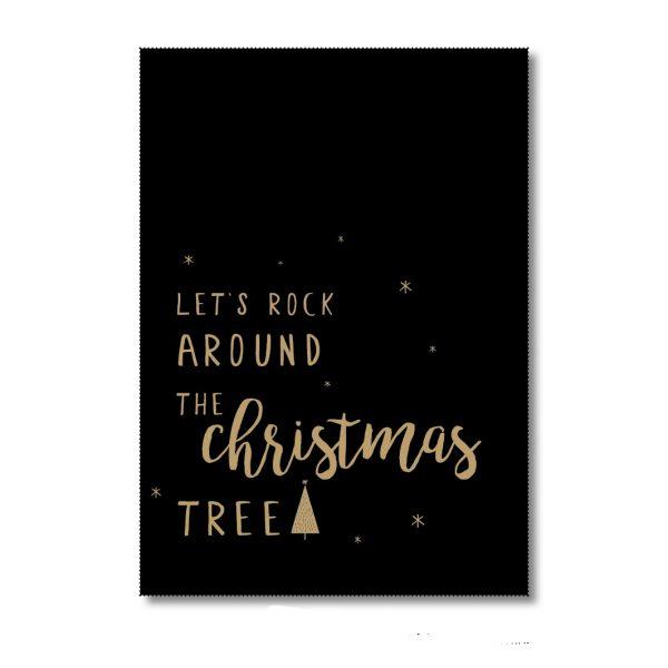 Let's rock around the Christmas tree