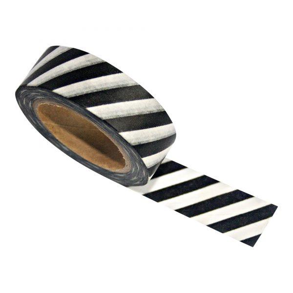 Zoedt-Masking-tape-zwart-wit-schuine-streep