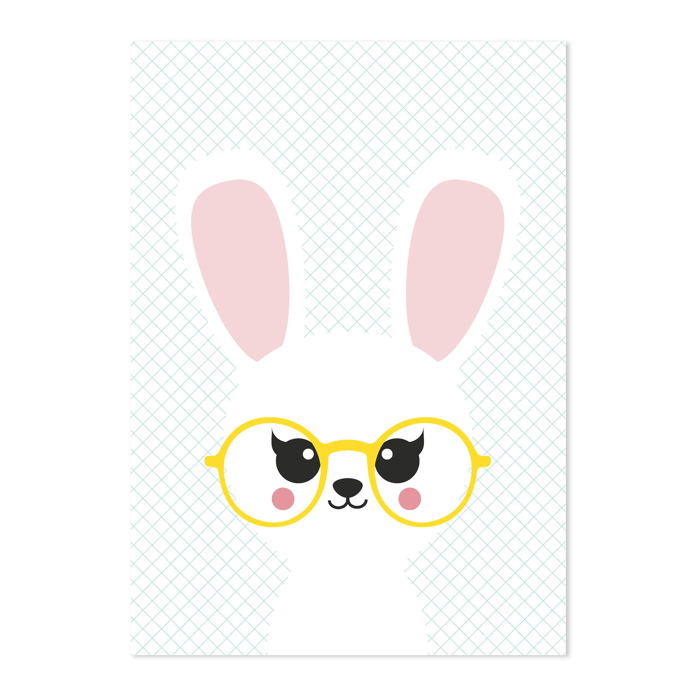 studioinktvis-kaart-bunny
