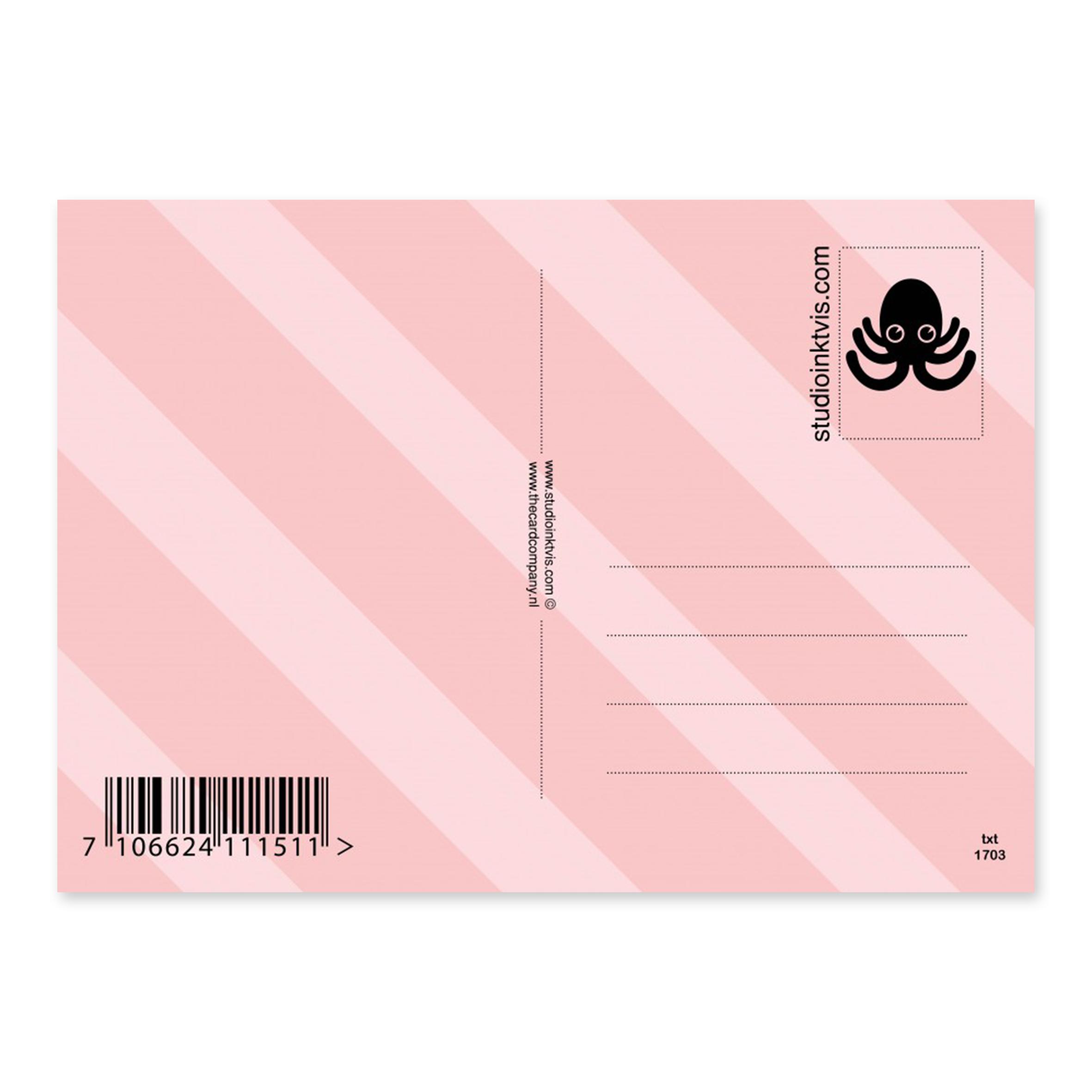 studioinktvis-kaart-ifyoucannotbepositivebequiet-achterkant