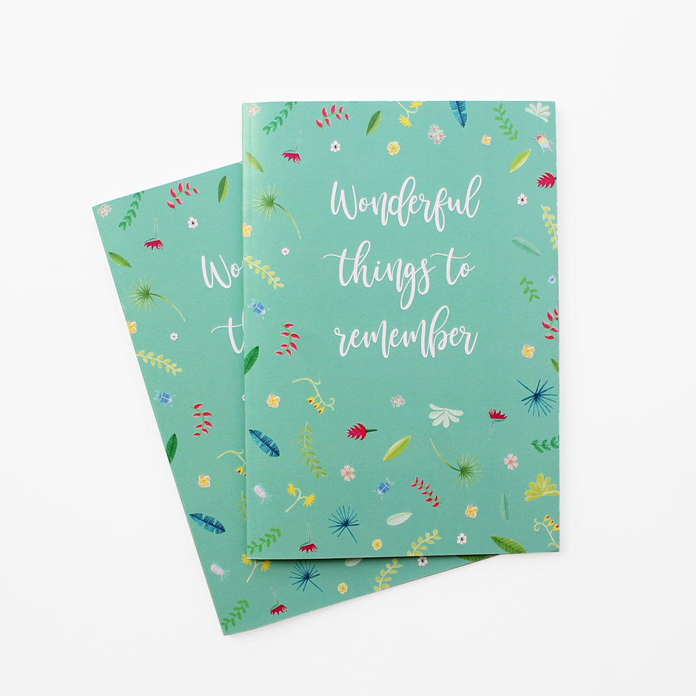 Wonderful things notebook 2 pieces design wonderlab