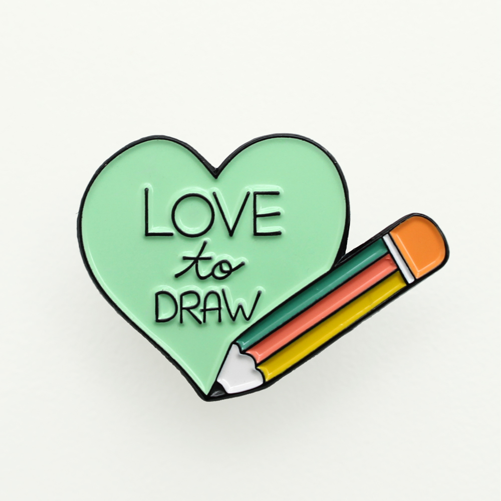 enamel-pin-love-to-draw