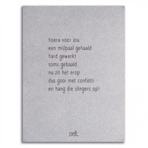 zoedt-kaart-grijsboard-gedicht-mijlpaal
