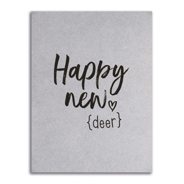 Zoedt-kaart-grijsboard-Happy-new-deer
