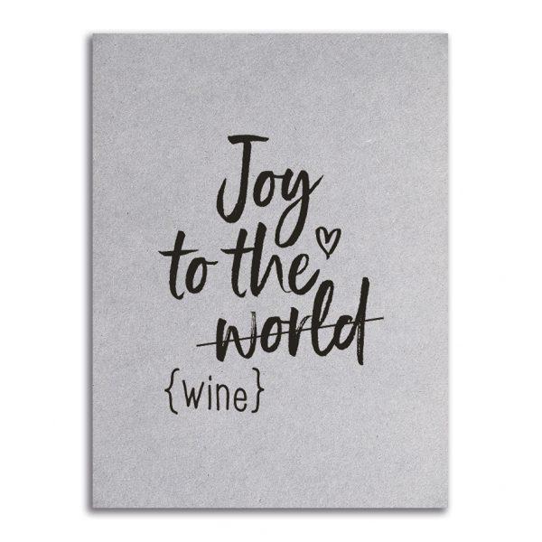 Zoedt-kaart-grijsboard-Joy-to-the-world