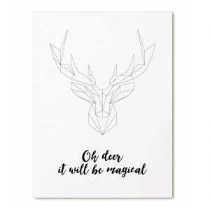 zoedt-kerstkaart-oh-deer-it-will-be-magical