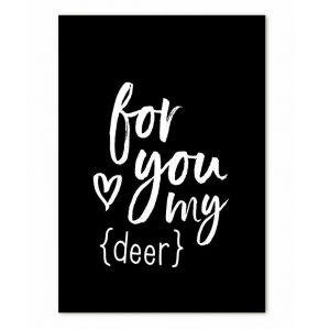 zoedt-minikaartje-met-tekst-for-you-my-deer