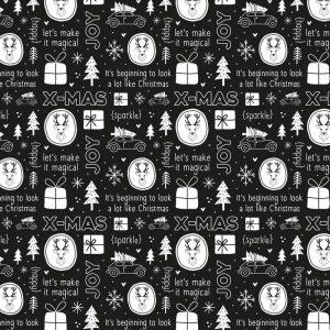 zoedt-rol-cadeaupapier-kerstmis-zwart-wit