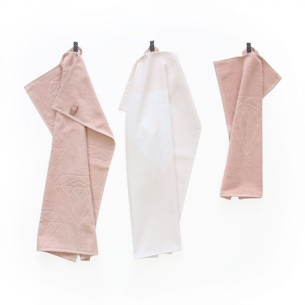giftset-towels-pink-diamant-house-of-products