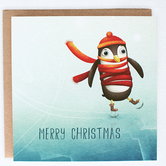 Lea-illustraties-kerst-kaart-merry-christmas