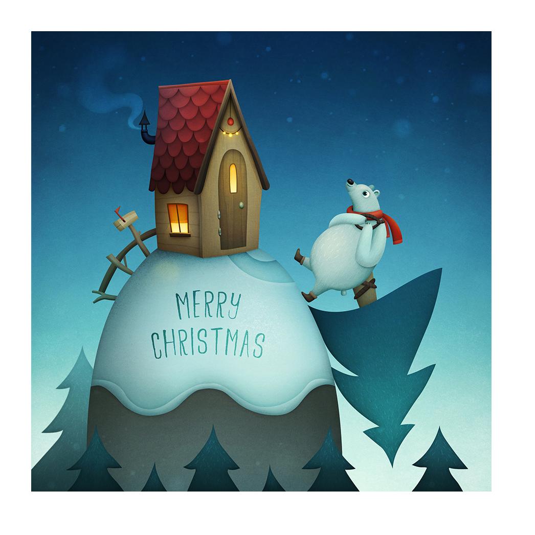 Lea-Vervoort-kerst-kaart-merry-christmas
