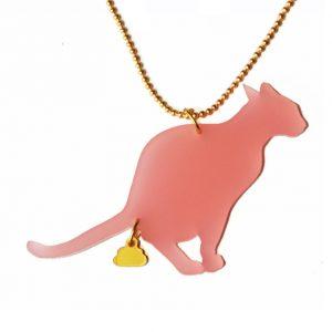 naked-design-ketting-cat-turd-roze