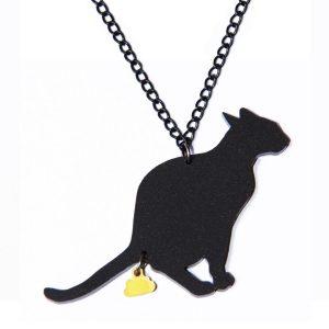 naked-design-ketting-cat-turd-zwart