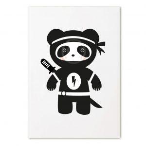 zoedt-kaart-panda-ninja