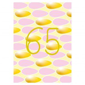 Getalkaart-65-verjaardagskaart-verjaardag