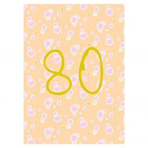 Getalkaart-80-verjaardagskaart-verjaardag