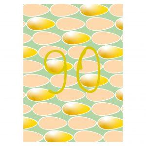 Getalkaart-90-verjaardagskaart-verjaardag
