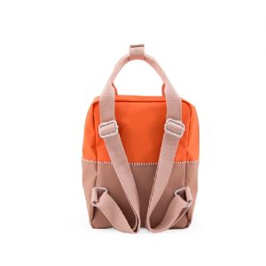 sticky-lemon-product-backpack-small-colour-blocking-royal-orange-party-pink