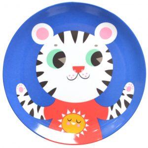 petit-monkey-melamine-bord-tijger-blauw