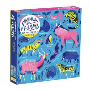 mammals-with-mohawks-500pc-family-puzzle-family-puzzles-mudpuppy-puzzel