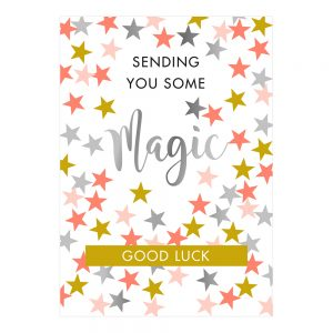 house-of-products-wenskaart-sending-you-some-magic-good-luck