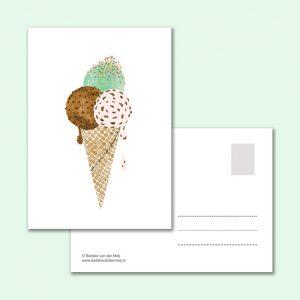 sietske-van-der-meij-kaart-ijsje-hoorntje