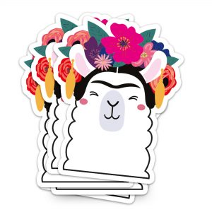 studio-inktvis-vinyl-sticker-frida-kahlo