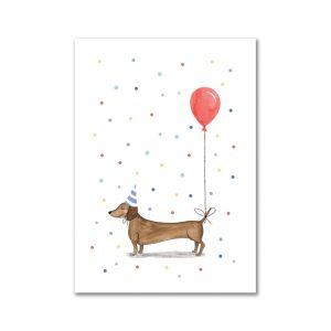 sietske-van-der-meij-verjaardag-kaart-teckel-ballon