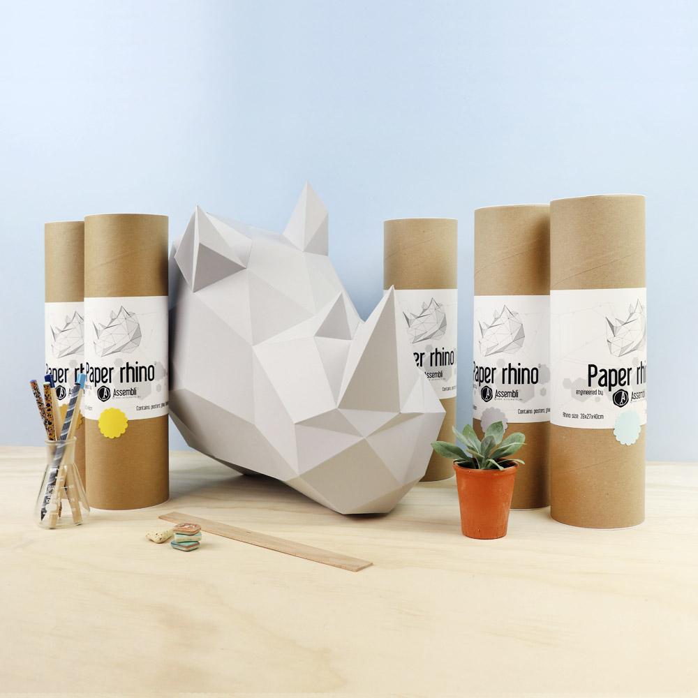 assembli-diy-neushoorn-rhino-papierenkop-beton-grijs