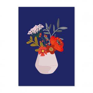 studio-inktvis-postkaart-hella-duijs-hanneke-bloemen-vaas