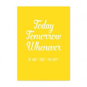 studio-inktvis-postkaart-hip-today-tomorrow-whenever