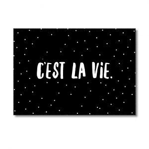miekinvorm-kaart-cest-la-vie