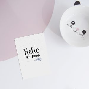 miekinvorm-kaart-hello-little-dreamer