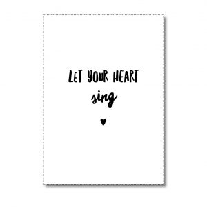 miekinvorm-kaart-let-your-heart-sing