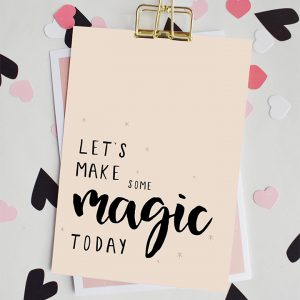 miekinvorm-kaart-lets-make-some-magic-today