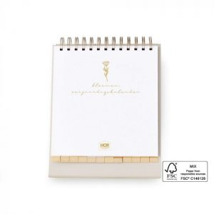 house-of-products-birthday-calendar-desk-nature-foil-gold