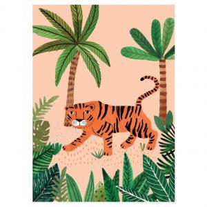 savannah-tiger-petit-monkey