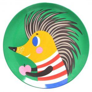 melamine-plate-hedgehog-green-petit-monkey