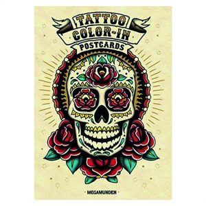 tattoo-collor-in-postcards-steel-petal-press