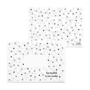 bedrukte-envelop-hartjes-patroon-een-knuffel-in-een-envelop'-zoedt