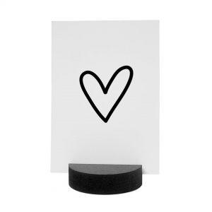 kaartenhouder-zwart-hout-rond-zoedt