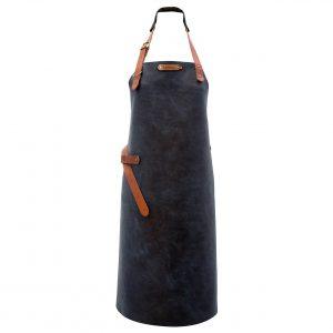 xapron-luxe-leren-bbq-schort-kansas-kleur-rust-blue