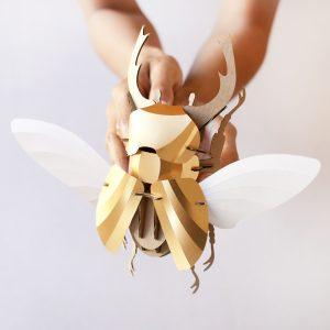 assembli-stag-beetle-vliegend-hert-gold