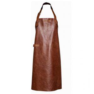 xapron-luxe-leren-bbq-schort-new-york-kleur-rust-roest