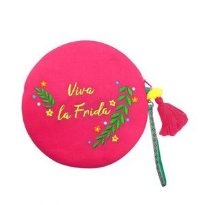 frida-kahlo-round-make-up-bag