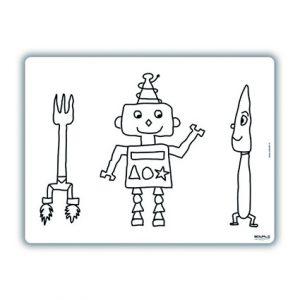 herkleurbare-placemat-robot-slimpie-edwali