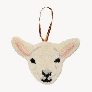 woolly-lam-dierenkop-hanger
